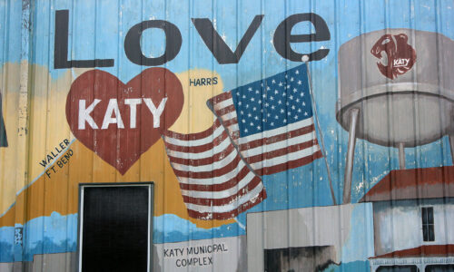 katy texas heritage museum wall